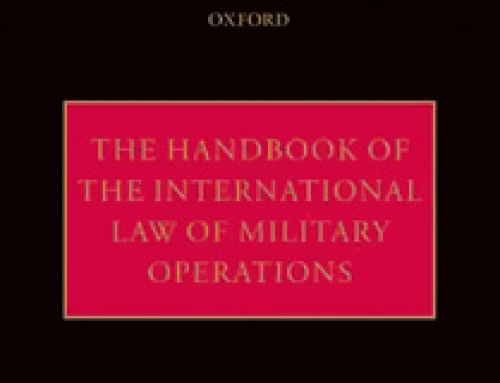 The Handbook of the International Law of Military Operations / Terry D. Gill and Dieter Fleck (eds)