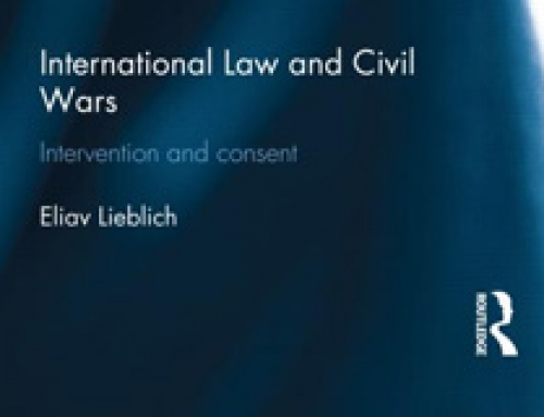 International Law and Civil Wars: Intervention and Consent