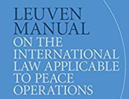 Leuven Manual on the International Law of Peace Operations